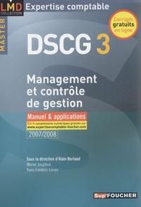 Alain Burlaud et Muriel Jougleux - Management et contrôle de gestion DSCG3 - Manuel et applications.