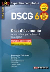 Oral d'économie se déroulant partiellement en anglais DSCG 6- Manuel & applications - Alain Burlaud pdf epub