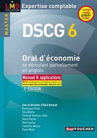 Oral d'économie se déroulant partiellement en anglais DSCG 6- Manuels et applications - Alain Burlaud pdf epub
