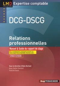 Ucareoutplacement.be Relations professionnelles DCG-DSCG - Manuel et guide du rapport de stage Image