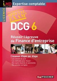 Alain Burlaud et Michèle Mollet - Réussir l'épreuve finance d'entreprise DCG 6.