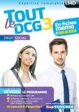 Alain Burlaud et Marie-Paule Schneider - Tout le DCG 3 Droit social.