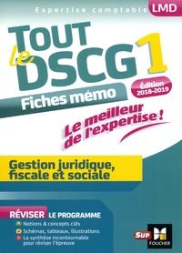 Ucareoutplacement.be Tout le DSCG 1 - Gestion juridique, fiscale et sociale - Fiches mémo Image