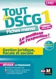 Alain Burlaud - Tout le DSCG 1, Gestion juridique fiscale et sociale.