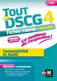 Alain Burlaud et Frédérique Carré - Tout le DSCG 4 Comptabilite et Audit - Fiches mémos + exos au verso.