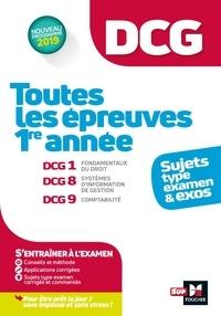 Alain Burlaud - Toutes les épreuves de 1re année du DCG.