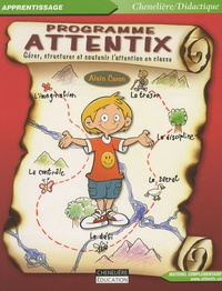 ebooks gratuits avec prime Programme Attentix  - Gérer, structurer et soutenir l'attention en classe 9782894615850 (French Edition)