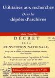 Alain Chapellier - Utilitaires aux recherches dans les dépôts d'archives - Correspondance entre les calendriers républicain et grégorien.