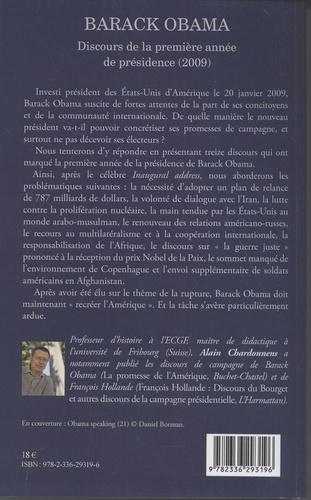 Barack Obama. Discours de la première année de présidence (2009)