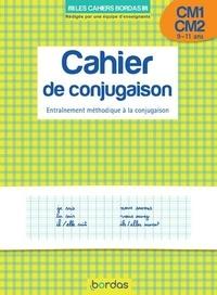 Alain Charles et Thierry Zaba - Cahier de conjugaison CM1 CM2 9-11 ans - Entraînement méthodique à la conjugaison.