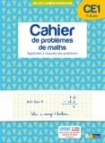 Alain Charles et Michel Wormser - Cahier de problèmes de maths CE1 7-8 ans - Apprendre à résoudre des problèmes.