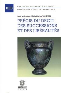 Alain-Charles Van Gysel - Précis du droit des successions et libéralités.