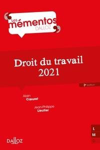 Alain Coeuret et Jean-Philippe Lieutier - Droit du travail 2021 - 3e ed..