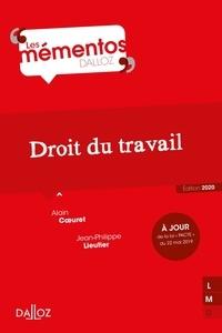 Alain Coeuret et Jean-Philippe Lieutier - Droit du travail.