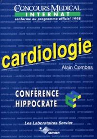Alain Combes - CARDIOLOGIE. - Internat, Conforme au programme officiel 1998.