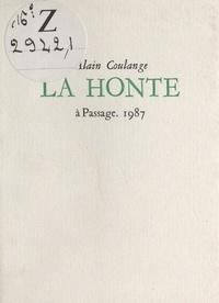 Alain Coulange - La honte.