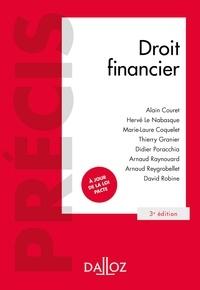 Alain Couret et Hervé Le Nabasque - Droit financier - 3e éd..