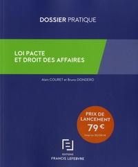 Alain Couret et Bruno Dondero - Loi pacte et droit des affaires.