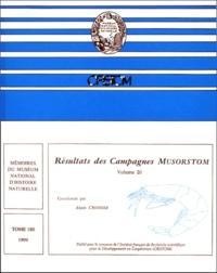 Alain Crosnier et  Collectif - Résultats des campagnes Musorstom - Volume 20.