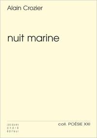 Alain Crozier - Nuit marine.