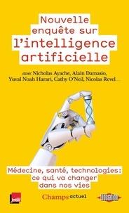 Alain Damasio et Yuval Noah Harari - Nouvelle enquête sur l'intelligence artificielle - Au coeur de l'humain.