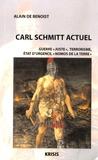 """Alain de Benoist - Carl Schmitt actuel - """"Guerre juste"""", terrorisme, état de guerre, """"Nomos de la terre""""."""