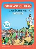 Alain de Boudemange et Jean-Louis Fradon - Dieu avec nous - Catéchisme - Livre enfant, parcours A 8-11 ans.