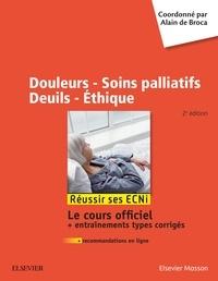 Alain de Broca - Douleurs - Soins palliatifs - Deuils - Ethique.