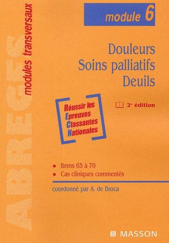 Alain de Broca - Douleurs, Soins palliatifs, Deuils.