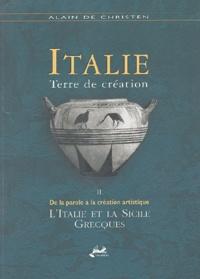 Alixetmika.fr Italie, terre de création - Tome 2, De la parole à la création artistique : l'Italie et la Sicile grecques Image