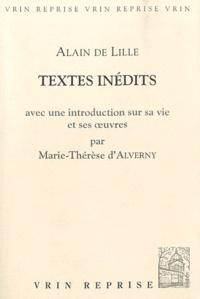 Alain de Lille - Textes inédits.
