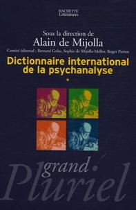 Alain de Mijolla - Dictionnaire international de la psychanalyse en 2 volumes.