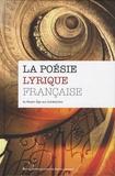 Alain Délot - La poésie lyrique française - Du Moyen-Age aux Symbolistes. 4 CD audio
