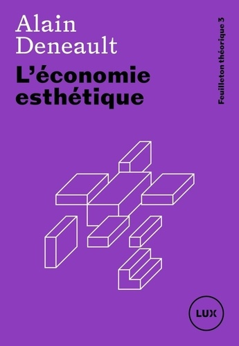 L'économie esthétique