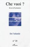 Alain Deniau et Michel Constantopoulos - Che vuoi ? N° 20/2003 : De l'infantile.