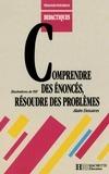 Alain Descaves - Comprendre des énoncés, résoudre des problèmes.