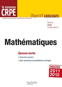 Deedr.fr Le nouveau CRPE Mathématique - Epreuve écrite Image