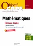 Alain Descaves - Mathématiques - Epreuve écrite d'admissibilité.