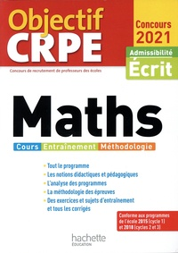 Alain Descaves - Maths. Cours, entraînement, méthodologie - Admissibilité écrit.