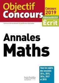 Alain Descaves - Objectif CRPE Annales Maths 2019.