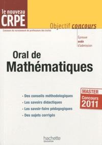 Alain Descaves - Orale de Mathématiques - Epreuve orale d'admission CRPE.