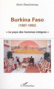 """Alain Deschamps - Burkina-Faso (1987-1992). - """"Le pays des hommes intègres""""."""
