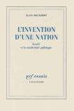 Alain Dieckhoff - L'invention d'une nation - Israël et la modernité politique.