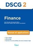 Alain Donadio et Emmanuelle Nègre - Finance DSCG 2 - Manuel et applications.