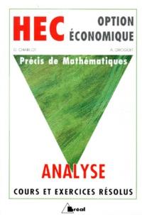 PRECIS DE MATHEMATIQUES. Analyse, Classes préparatoires au haut enseignement commercial option économique.pdf