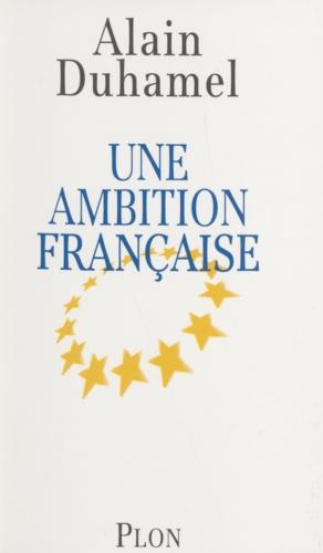 Une ambition française