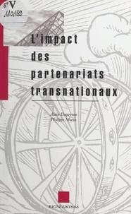 Alain Dupeyron et Philippe Morin - L'impact des partenariats transnationaux.