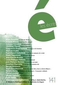 Alain Fleischer et Jacques Henric - Les écrits. No. 141. Août 2014.