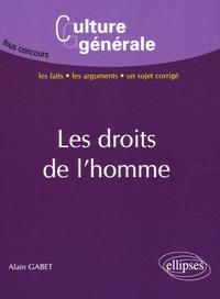 Alain Gabet - Les droits de l'homme.