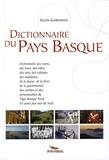Alain Gardinier - Dictionnaire du Pays Basque.